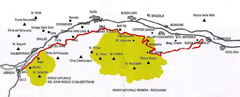 Sentiero dei Franchi