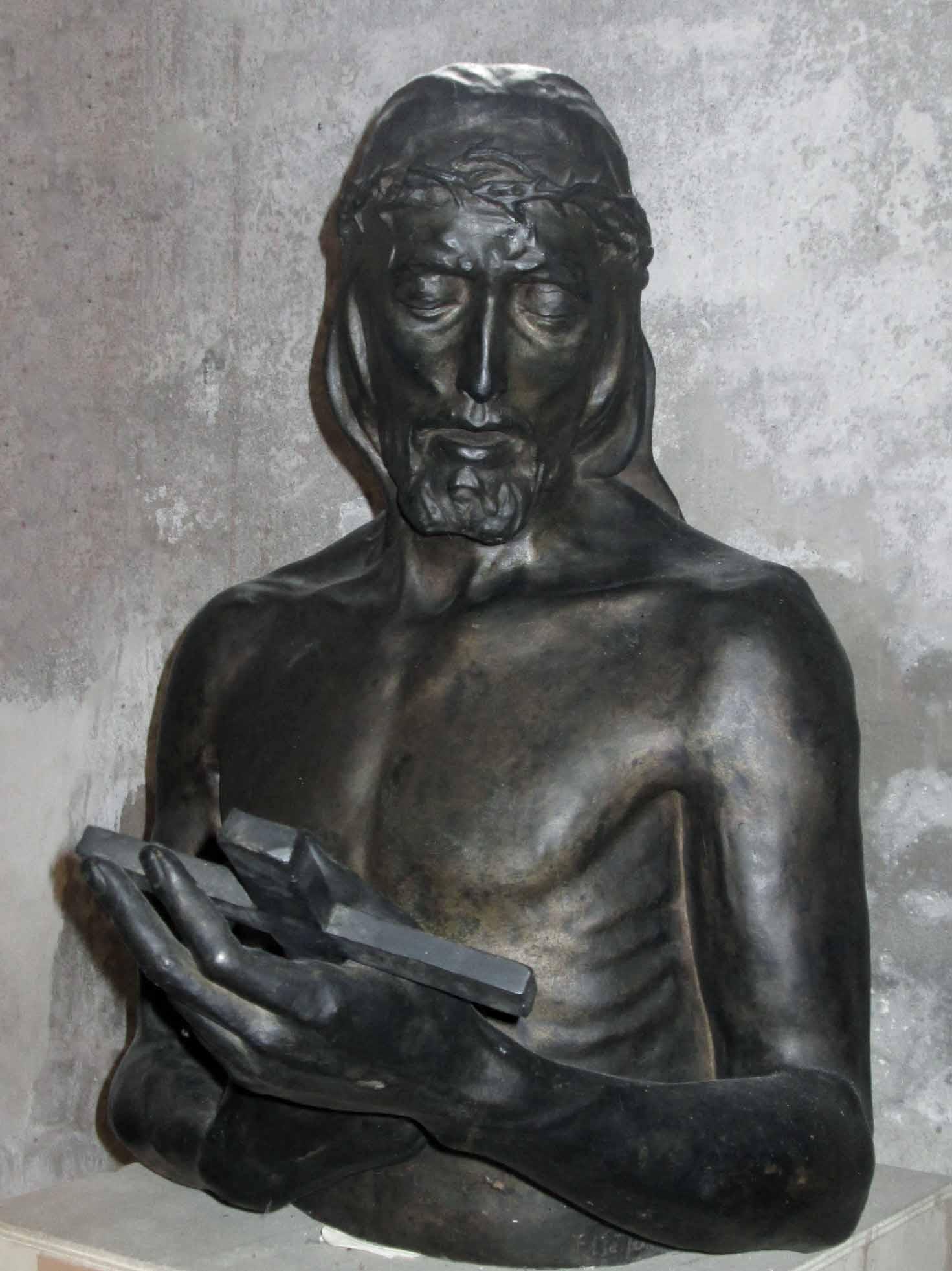 Gesù guarda la croce 2